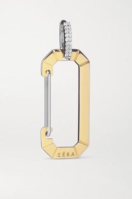 EÉRA Chiara 18-karat Yellow And White Gold Diamond Earring - one size