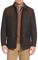 Hart Schaffner Marx 'Shooter' Wool Blend Quilted Jacket