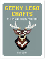 Random House Geeky LEGO® Crafts Hardcover