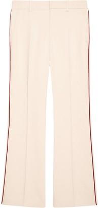 Gucci Contrast Trim Bootcut Trousers