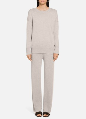 St. John Extra Fine Merino Wool Pullover