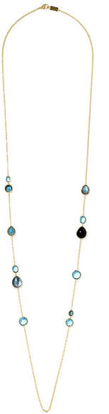 Ippolita Rock Candy Lollipop 18-karat Gold Topaz Necklace