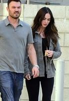 Vanessa Mooney Ayasha Leaf Bead Necklace as Seen On Megan Fox