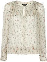 Isabel Marant Thalio blouse - women - Silk/Spandex/Elastane - 38