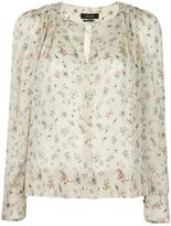 Isabel Marant Thalio blouse - women - Silk/Spandex/Elastane - 40
