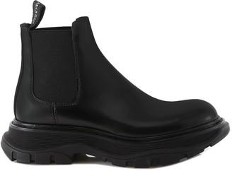 Alexander McQueen Chelsea Tread Ankle Boots