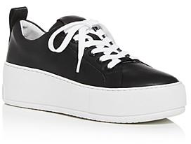J/Slides Women's Margot Low-Top Platform Sneakers