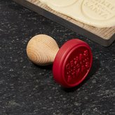 Crate & Barrel Baked for Santa Cookie Stamp