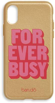 ban.do Forever Busy iPhone Case