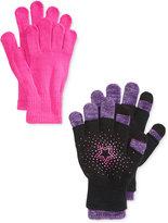 London Fog 3-Pk. Star Fingerless & Texting Gloves Set, Big Girls (7-16)