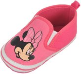 "Disney Minnie Mouse Baby Girls' ""Minnie Slide"" Slip-On Sneaker Booties"