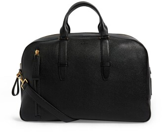 Tom Ford Large Leather Buckley Bowling Bag