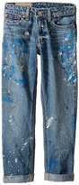 Polo Ralph Lauren Denim Paint Splat Five-Pocket Jeans in Michael Wash (Big Kids)