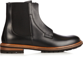 Dolce & Gabbana Leather zip-up chelsea boots