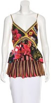 Christian Lacroix Floral Print Knit Top