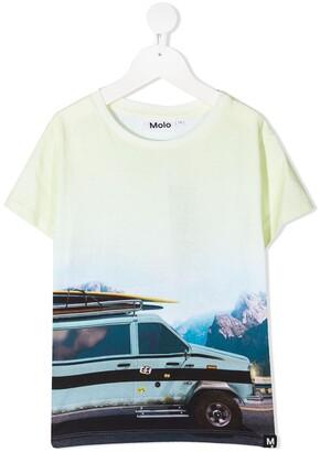 Molo photograph-print organic cotton T-Shirt