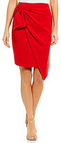 Sugar Lips Sugarlips Faux-Wrap Skirt
