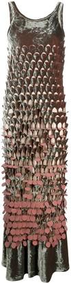Maison Margiela Cut-Out Maxi Dress