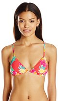 Hobie Women's Tropical Locales Triangle Bikini Top