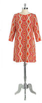 Shoshanna Silk Printed Shift Dress