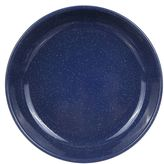 Falcon Enamel Deep Dinner Plate, 24cm, Blue