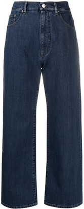 Katharine Hamnett Wide Organic Stretch-Cotton Jeans
