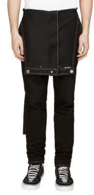 Givenchy Cotton Denim Overalls