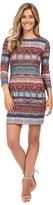 Karen Kane 3/4 Sleeve Sheath Dress