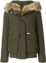 Woolrich padded hood jacket