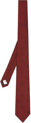 Burberry Classic Cut Puppytooth-Check Tie