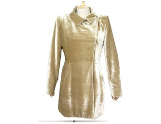 Fendi Brown Velvet Coat for Women