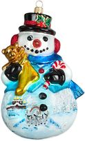 Bed Bath & Beyond Joy to the World Collectibles Carpathian Snowman Troika Version Christmas Ornament