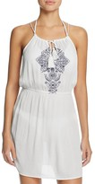 Ella Moss The Wanderer Embroidered Dress Swim Cover-Up