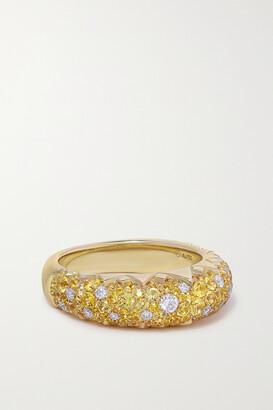 Piaget Sunlight 18-karat Gold, Sapphire And Diamond Ring - 52