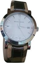 Burberry Beige Steel Watches