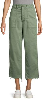 Mother Cropped Stretch Pants