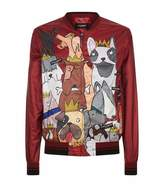 Dolce & Gabbana Dog Print Jacket