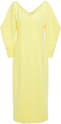 Emilia Wickstead Crepe-wool Midi Dress
