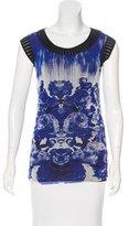 Jean Paul Gaultier Soleil Printed Sleeveless Top