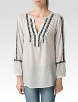 Paige Tess Top - White