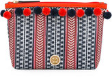 Tory Burch pompom makeup bag - women - Cotton/Nylon - One Size