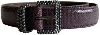 Bottega Veneta Other Lizard Belts