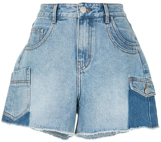 PortsPURE High-Rise Stonewashed Shorts