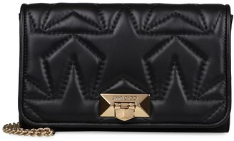Jimmy Choo Helia Clutch Quilted Leather Shoulder Bag
