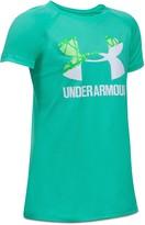 Under Armour Girls' Big Logo Tech Tee
