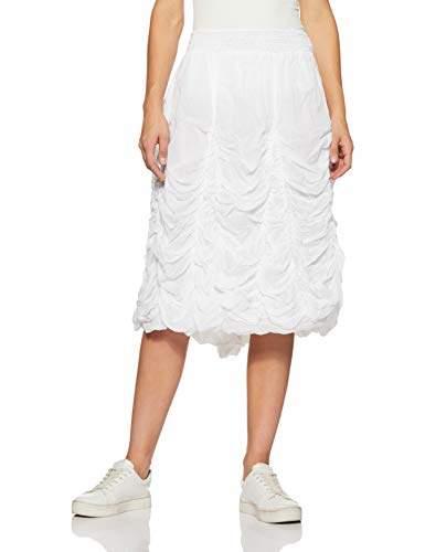 98c80f426 White Skirt Elastic Waist - ShopStyle