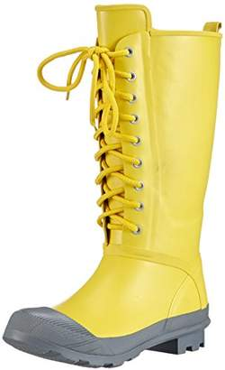 Romika Womens RomiRub 03 Unlined Rubber Boots Half Shaft Boots & Bootees Yellow Gelb (Gelb-grau 826) Size: 4.5