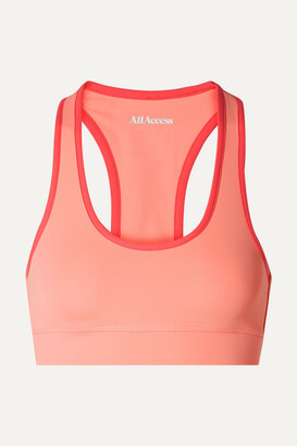 All Access - Front Row Stretch Sports Bra - Peach