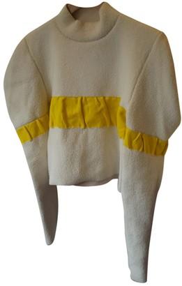 J.W.Anderson White Wool Knitwear for Women