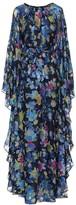 Etro Floral silk-blend gown